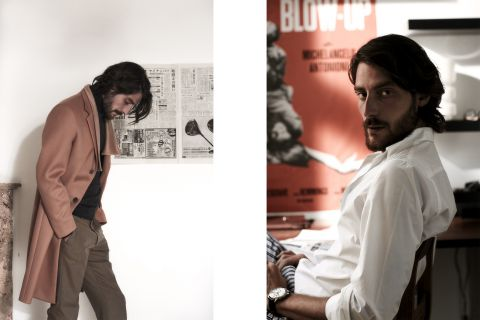 Florent Megdoud , Dominique models , david carette , mode , homme , storytelling , scenography , photography